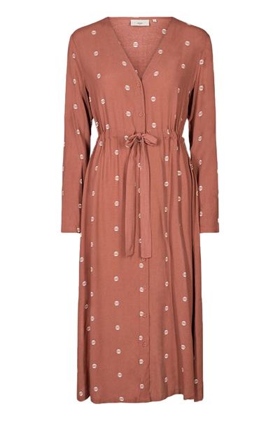 Minimum Kjole Altea Dress Marsala